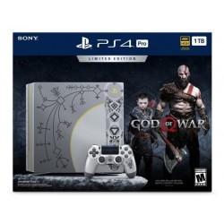 PlayStation 4 Pro 1TB Limited Edition - God Of War Bundle