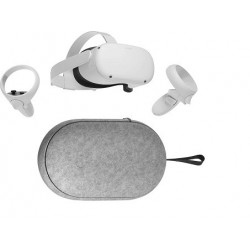 Package Oculus Quest 2 Advanced All In One Virtual Reality Headset 256GB and Oculus Quest 2 Carrying Case for Lightweight