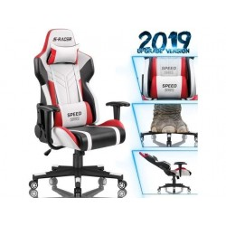 Homall Gaming Chair Racing Style High-Back PU Leather