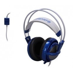 SteelSeries Siberia V2 3.5mm Connector Circumaural Full-Size Gaming Headset - Blue