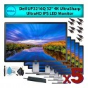 "Dell UP3216Q 32"" 16:9 4K UltraSharp UltraHD IPS LED Computer Monitor"