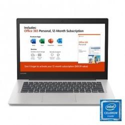"Lenovo Ideapad 130s 14.0"" Laptop, Intel Celeron N4000 Dual-Core Processor"