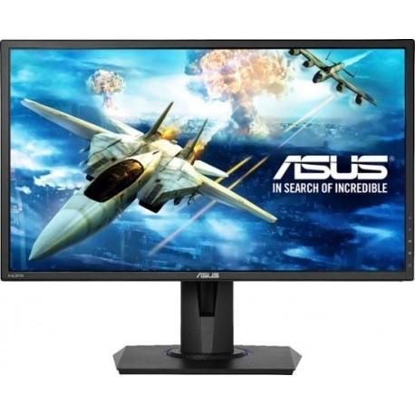 "ASUS - 24"" LED FHD FreeSync Monitor - Black"