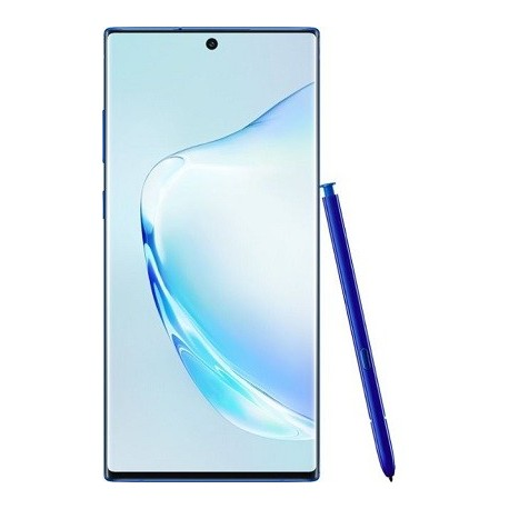 Samsung Galaxy Note10+ with 256GB Memory Cell Phone (Unlocked)Aura Blue