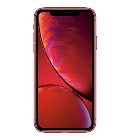 Apple iPhone XR with 64GB Memory Cell Phone (Unlocked) Red