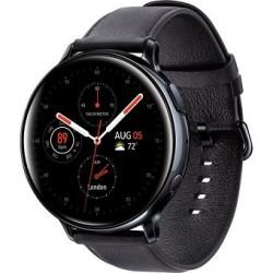 Samsung Galaxy Watch Active2 LTE Smartwatch (Stainless Steel, 44mm, Black)