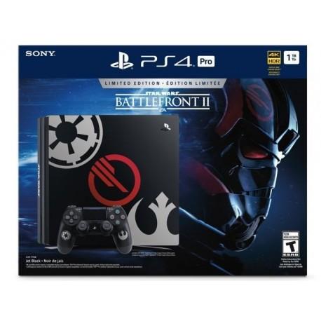 PlayStation 4 Pro 1TB Limited Edition - Star Wars Battlefront II Bundle