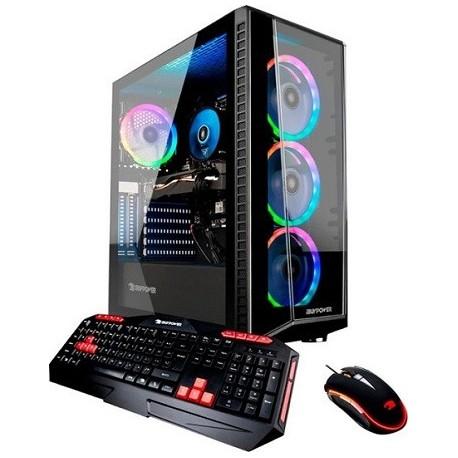 iBUYPOWER Gaming Desktop Intel Core i5-9400F 8GB Memory